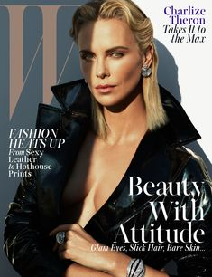 "cool Charlize Theron em ""Mad Beautiful"" por Mert & Marcus para W Magazine Maio 2015  [Editorial]"