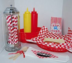 Fun picnic/BBQ supplies  jillybeankids.com