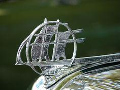 1934 Plymouth hood ornament.