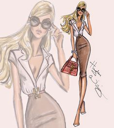 #Hayden Williams Fashion Illustrations #'Look, Don't Touch' by Hayden Williams