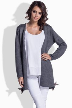 https://www.margery.pl/Kardigan-Model-LS177-Grafit-p10575  Promocja 25% na wszystkie swetry i kurtki! Zapraszamy :)