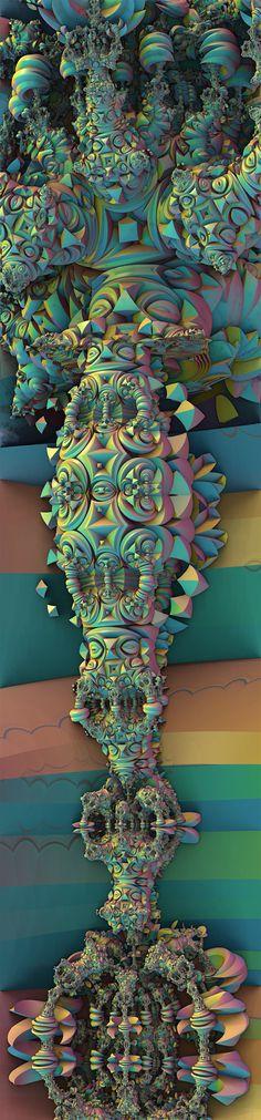 Fractal Art Mandelbulb 3d by taojoe.com