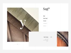 Homepage for Sagº by Firman Suci Ananda Popular Website Design Layout, Web Layout, Layout Design, Amazing Websites, Modern Website, Editorial, Calendar Design, Graphic Design Inspiration, App Design