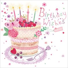 Birthday Wishes To You Happy Birthday Wishes Quotes, Birthday Wishes And Images, Happy Birthday Flower, Happy Birthday Beautiful, Happy Birthday Girls, Birthday Cards For Women, Happy Birthday Greetings, Birthday Pictures, Birthday Fun