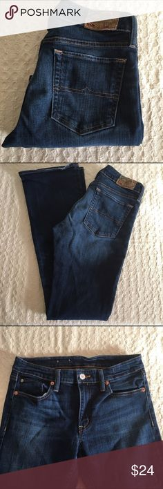 "Denim&Supply denim Dark wash skinny boot cut denim. Waist-15"". Rise-9"". Inseam-32"". Ralph Lauren Jeans Boot Cut"