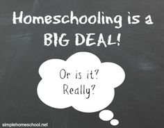 Homeschooling is a big deal -- or is it? Contributor Cheryl Pitt shares her thoughts on failure being an opportunity for improvement.