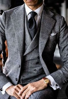 Mens Fashion Suits, Mens Suits, Mode Costume, Style Masculin, Designer Suits For Men, Herren Outfit, Well Dressed Men, Suit And Tie, Gentleman Style