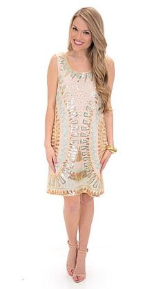 All That Glitters, Ivory :: NEW ARRIVALS :: The Blue Door Boutique