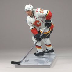 JEROME IGINLA / CALGARY FLAMES McFarlane 6 Inch NHL 2009 Series 20 Sports Picks Action Figure by McFarlane Toys. $10.89. JAROME IGINLA 3 MCFARLANE'S SPORTS PICKS: NHL HOCKEY SERIES 20. Measures 5 1/8 inches at top of helmet. Articulated at neck, shoulders, wrists and thighs. Includes stick, puck and 6-inch wide by 3 1/2-inch deep base imprinted with player's name.. From McFarlane Toys. Originally released in 2009 - Retired / Out of Production. JAROME IGINLA 3 MCF...