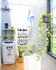 Kitchen Small Space Apartments Laundry Rooms New Ideas Outdoor Laundry Rooms, Small Laundry Rooms, Laundry Room Design, Location Villa, Kitchen Cabinet Styles, Small House Design, Interior Design Living Room, Room Decor, Home