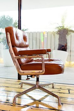 The Selby: Sue Webster: An Eames Time Life chair