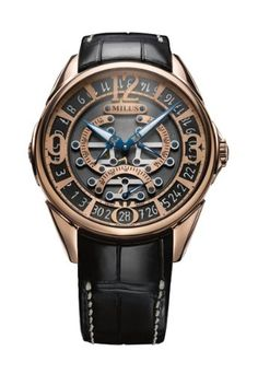 Milus – Tirion Triretrograde – 18K Red Gold Automatic | Your #1 Source for Watches and Accessories