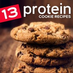Cookies are a great way to get your protein, because it's always a good time to have a cookie. The best part about these recipes is that they taste like normal cookies, they just come with a protein punch that isn't typically part of your cookie experience. This means that you'll be more...