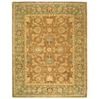 Anatolia Brown/Blue 9 ft. 6 in. x 13 ft. 6 in. Area Rug