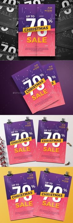 Christmas Sale Flyer This Ai & PSD file set on 210 mm x 297 mm bleed. 100 ready to print.You can easily change everything like color, image, text and elements Font used : Montserrat Langdon Christmas Flyer Template, Christmas Templates, Party Flyer, Nye Party, Christmas Balls, White Christmas, Christmas Eve, Xmas, New Years Poster