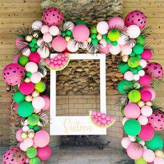 2 Birthday, 2nd Birthday Party For Girl, Fruit Birthday, First Birthday Themes, Birthday Party Decorations, Birthday Ideas, Watermelon Birthday Parties, 1st Birthdays, Sweet