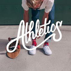 athletics lettering