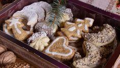 Karácsonyi aprósütemények – ajándékba is Stuffed Mushrooms, Xmas, Vegetables, Recipes, Food, Advent, Cakes, Amigurumi, Stuff Mushrooms