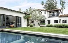 Jessica Capshaw & Christopher Gavigan  their  house