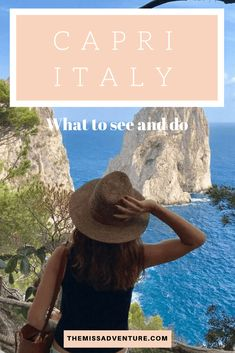 The MissAdventure inspires women to explore the globe together! Limestone Rock, European Travel Tips, Europe Holidays, Capri Italy, Places In Italy, Destin Beach, Top Destinations, Boat Tours, Beautiful Places To Visit