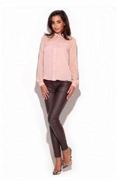 Pantalon Femme Model K231 Brun Katrus 44768