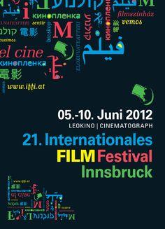 Poster 21. IFFI Innsbruck, International Film Festival, 21st, Poster, Billboard
