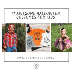Kids Halloween Costumes - Top 17 Halloween Costumes for Kids Top 10 Halloween Costumes, Halloween Kids, Diy Fashion Projects, Outfit Trends, Cool Diy, Kids Fashion, Children, Young Children, Boys