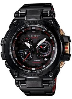 Casio G Shock MTG S1000 Watch- MT G Metal Twisted Collection