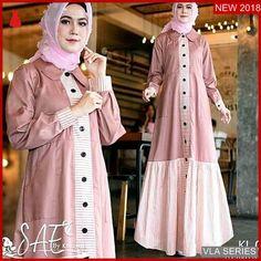 Model Baju Hijab, Abaya Fashion, Fashion Dresses, Moslem Fashion, Muslim Dress, Kebaya Muslim, Hijab Fashionista, Batik Dress, Hijab Chic