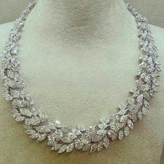 Bridal diamond necklace designs - Latest Jewellery Design for Women | Men online - Jewellery Design Hub
