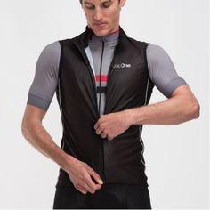 Black Men's Cycling Gilet - VeloOne Kit