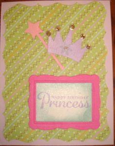 Girl Birthday Card.