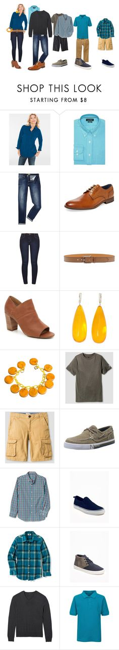 """""""Family Photos"""" by jennerly on Polyvore featuring Lauren Ralph Lauren, Versace, Gordon Rush, Dorothy Perkins, Etro, Michael Kanners and Old Navy"""