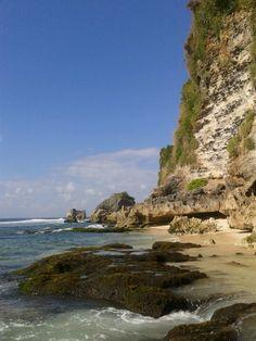 Suluban Beach, Pecatu, Bali, Indonesia