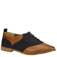 Restricted Women's Betsy Oxford,Whisky,5.5 M US Tailor your look to perfection in this chic oxford. Canvas synthetic upper. Tie closure. Lightly padded footbed. 3/4 heel height.  #Restricted #Shoes