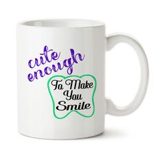 Personalized Dental Hygienist Mug, Gift For Dental Hygienist, Cute Enough To Make You Smile, Skilled Enough To Protect It, Coffee Mug
