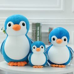 """Cute Penguin Kids Plush Toy Stuffed Animal Soft Toy Doll Pillow Cushion Gift 8"""" #Unbranded"""