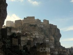 One of the amazing cities in Yemen, Al Hajjara. Photo by Charles Fred.