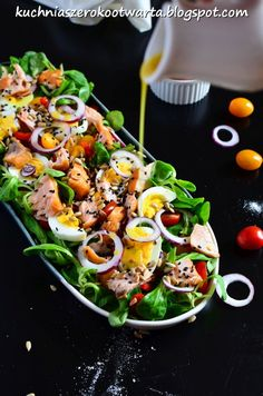 Salad Recipes, Diet Recipes, Cooking Recipes, Healthy Recipes, Healthy Cooking, Healthy Eating, International Recipes, Food For Thought, Food Dishes