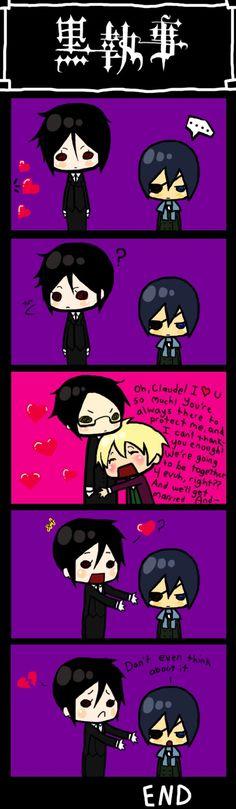 Black Butler, funny
