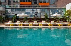 10 Amazing Outdoor Hotel Pools for Summertime Swims. McCarren Pool & Hotel-Brooklyn, New York