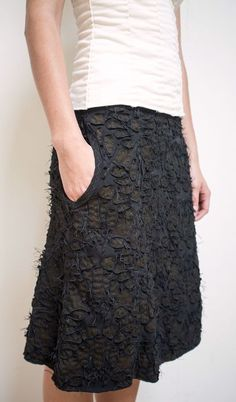 Image result for alabama chanin wrap skirt beaded diy