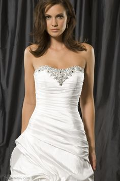 sweetheart ruched wedding dress - Bing Images
