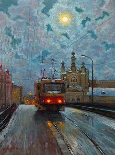 Волков Сергей. Лунный трамвайчик