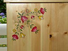 Boite coccinelles peinture sur bois peinture sur bois - Peinture bois meuble ...