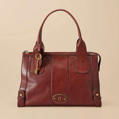 FOSSIL® Handbag Silhouettes Satchel & Shoulder:Women Vintage Re-Issue Satchel ZB5190 ALL MINE!! Yay! I just LOVE it!