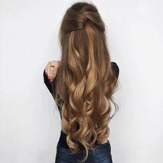 cabello largo, hair style, long hair, cabello, fashion
