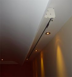screen behind curve in ceiling!! brilliant@!!!@#$