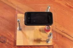 How to build a smart phone microscope stands for about $10. Assembly takes about 20 minutes. I wanna make one!