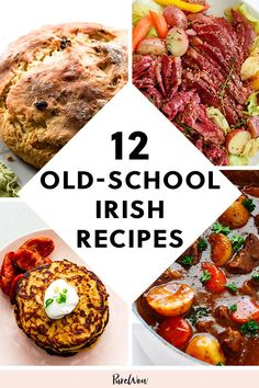 12 Old-School Irish Recipes Your Grandma Used to Make purewow international side dish easy breakfast lunch cooking food main course ireland dinner recipe # Easy Irish Recipes, Scottish Recipes, Fall Recipes, New Recipes, Cooking Recipes, Cooking Food, Vegetarian Recipes, Turkish Recipes, Easy Cooking